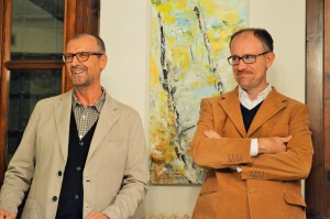 Roberto Gardina con Massimo Zanichelli
